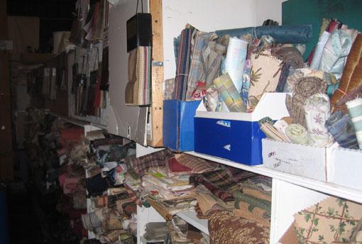 Scrap fabric