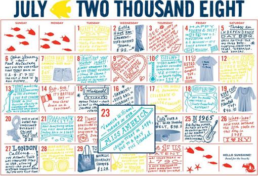 Madewell: Calendar
