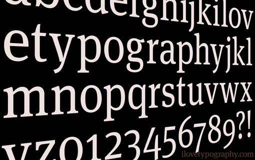 I Love Typography wallpaper