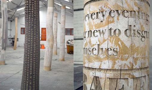 Typographic tree columns 01