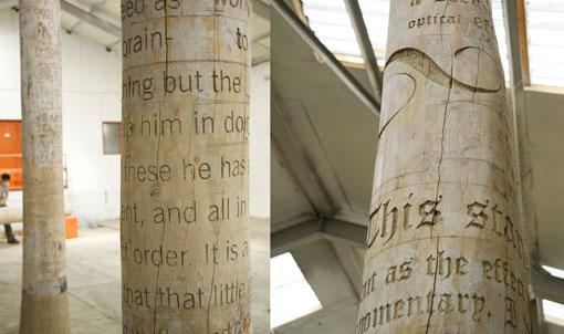 Typographic tree columns 02