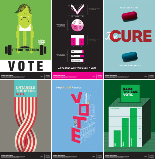 AIGA Get Out the Vote