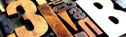 3B Letterpress Print