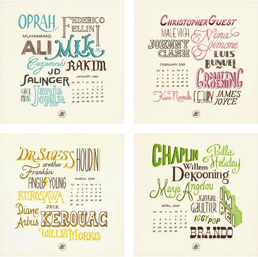 Beau Ideal 2009 Calendar 02