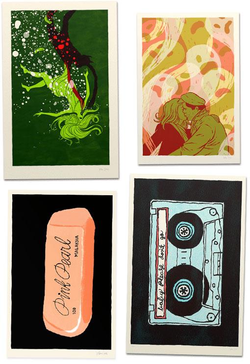 Jordan Crane Prints