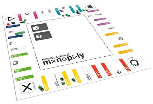 Helvetica Monopoly