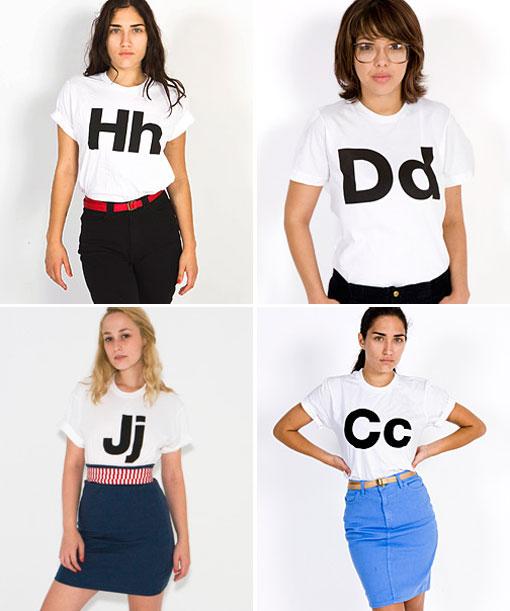 Helvetica Tees