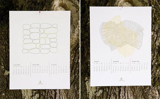 2009 Letterpress Calendar