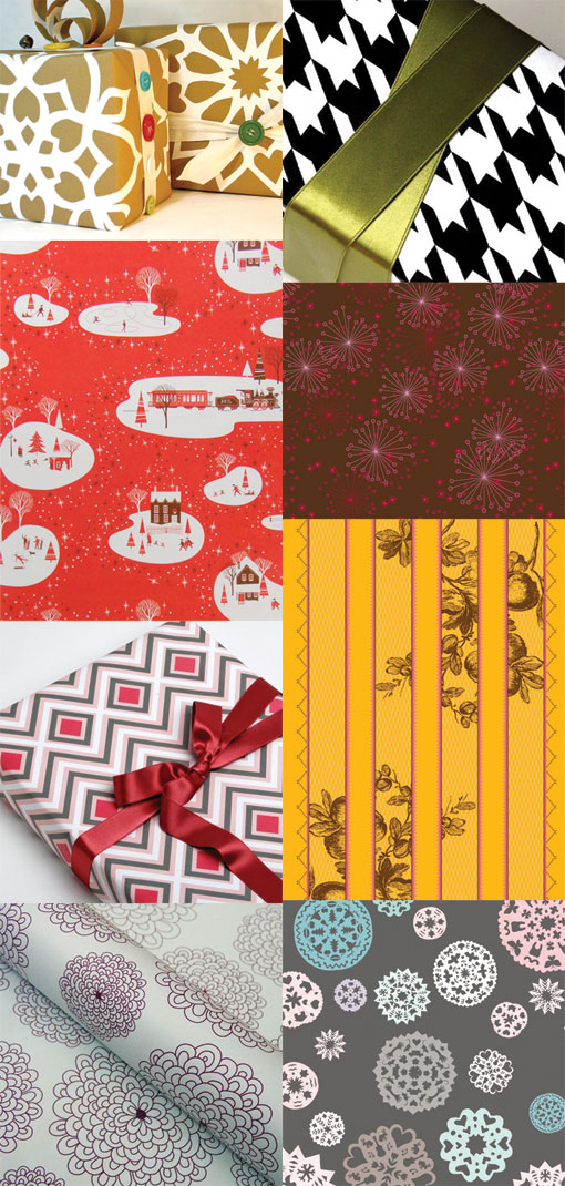 Gift wrap round-up
