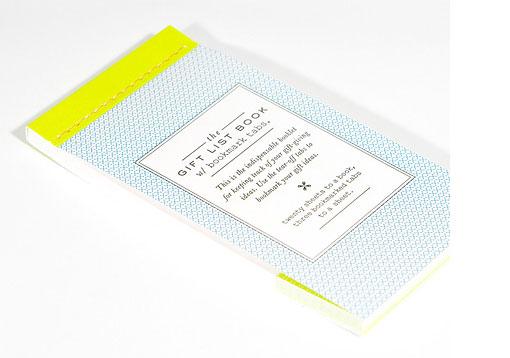 Gift List Book 01