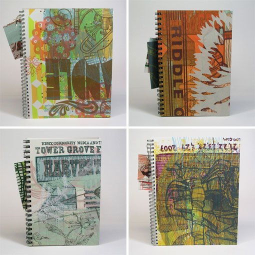 Bungaloo test print journals
