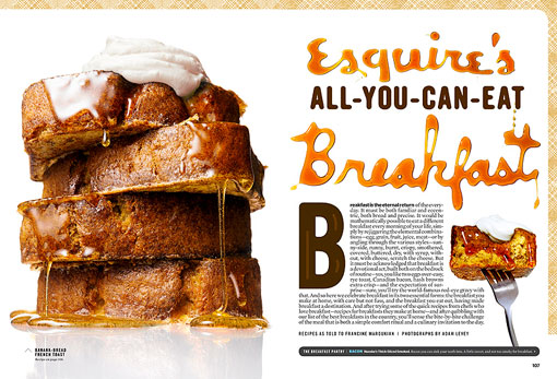 Esquire Breakfast 01