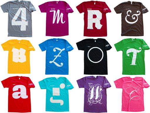 My Fonts Shirts