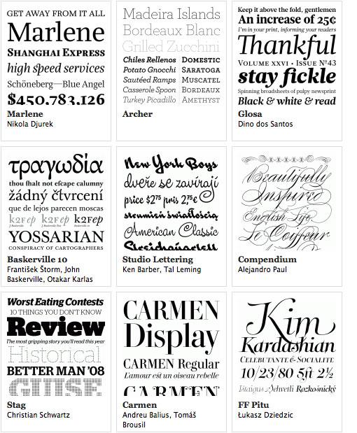 Typographica Best of 2008