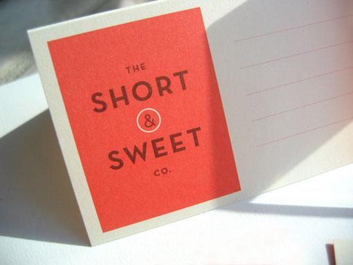 Short & Sweet 01