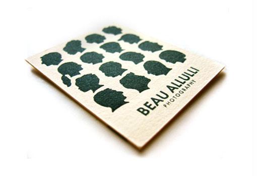 Beau Allulli Photography business card