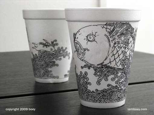 Coffee Cup Drawings 02
