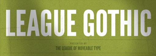 League Gothic 01
