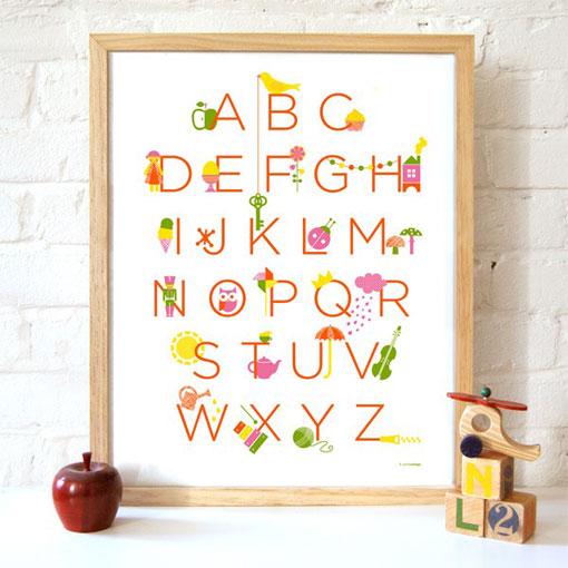 Modern Alphabet 03