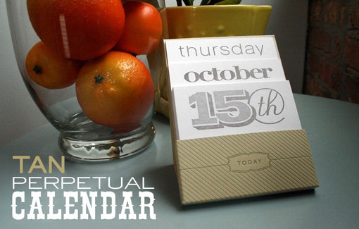 Orange Beautiful Calendar 01