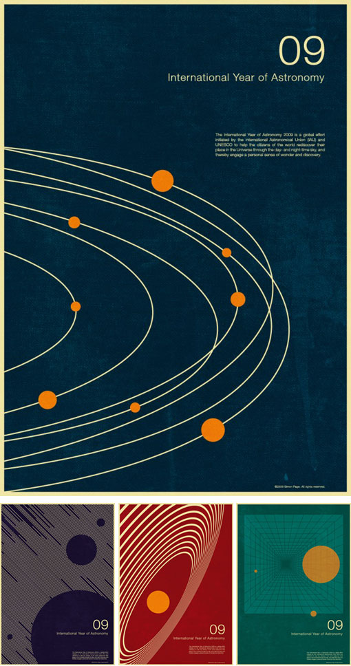 International Year of Astronomy posters