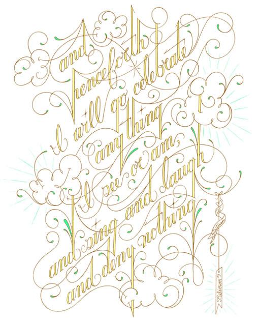 Wearing Whitman's Words
