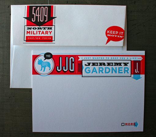 Jeremy Gardner Stationery 01
