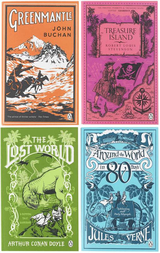 Boys' Adventure Covers