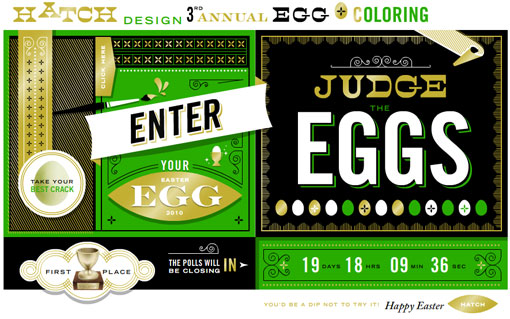 hatch 3rd Annual Egg Coloring Contest