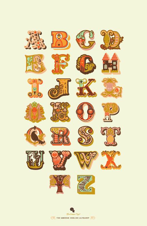 Jeanie & Jewel Alphabet 01