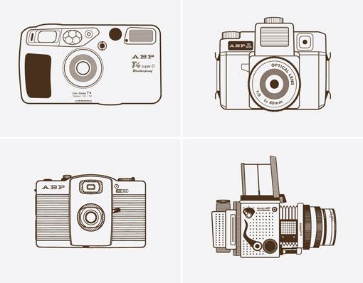 Line Drawing Camera : Daniel ray cole design work life