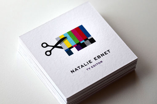 Mattson Creative: Natalie Ebnet Logo & Business Cards   Design ...