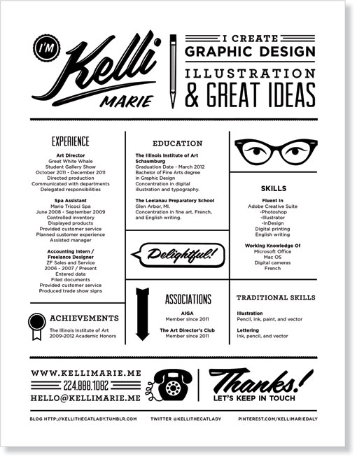kelli marie personal stationery design work life