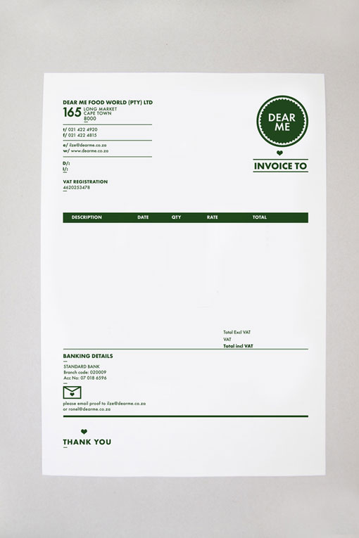 Self Promotion  Graphic Designer  On Behance In Invoice