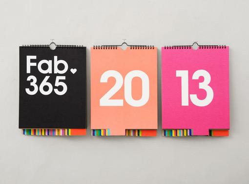 Calendar Typography Life : Studio lin fab perpetual calendar design work life