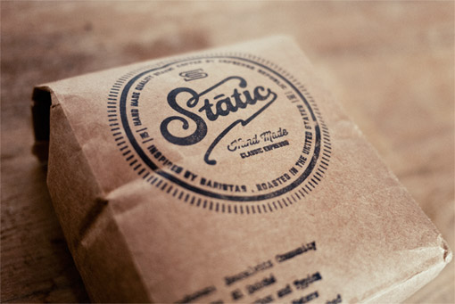 Salih Kucukaga Static Coffee Packaging