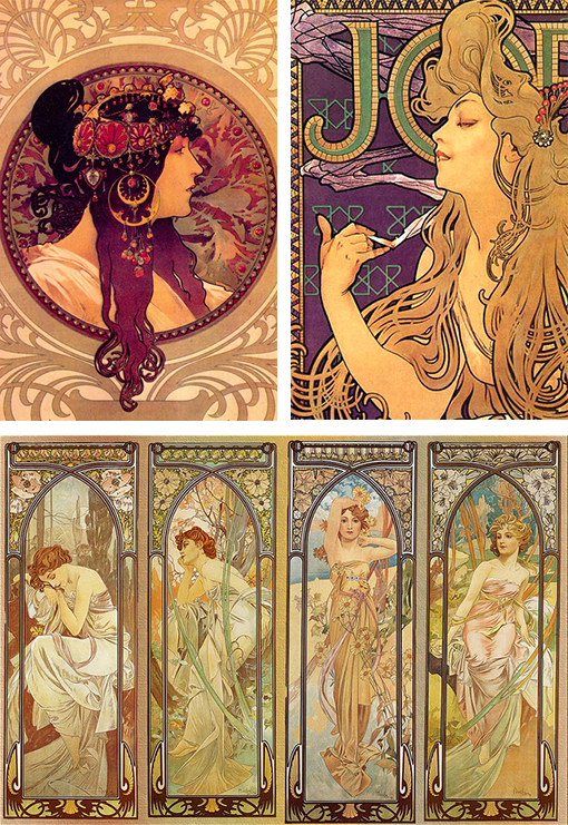 Connu Art Nouveau & Art Deco as Design Inspiration | Design Work Life VL77