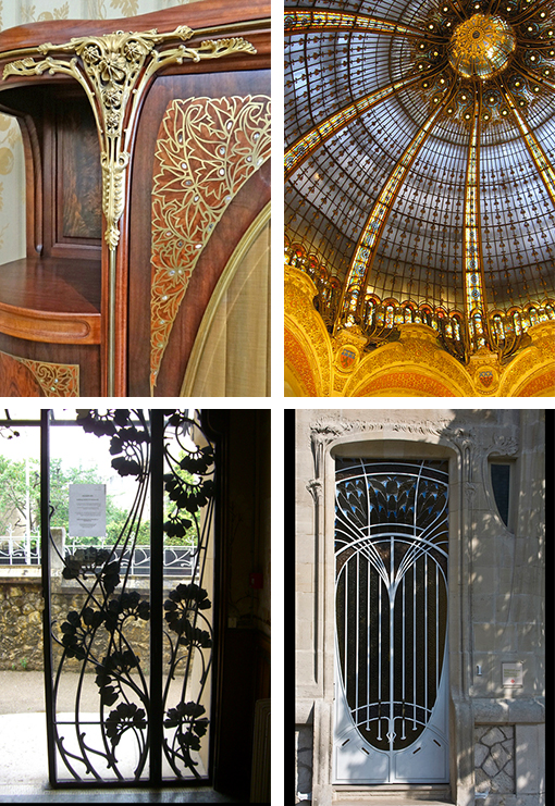 Art nouveau art deco as design inspiration design work life - Art nouveau art deco ...