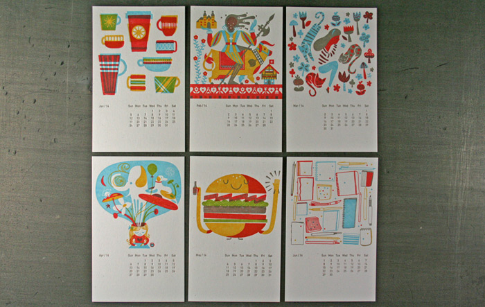 2014 Studio On Fire Desk Calendar / on Design Work Life