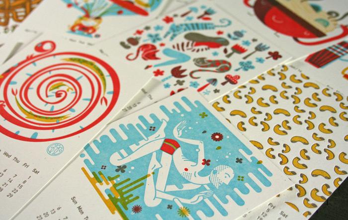 2014 Studio On Fire Desk Calendar / on Design Work Life