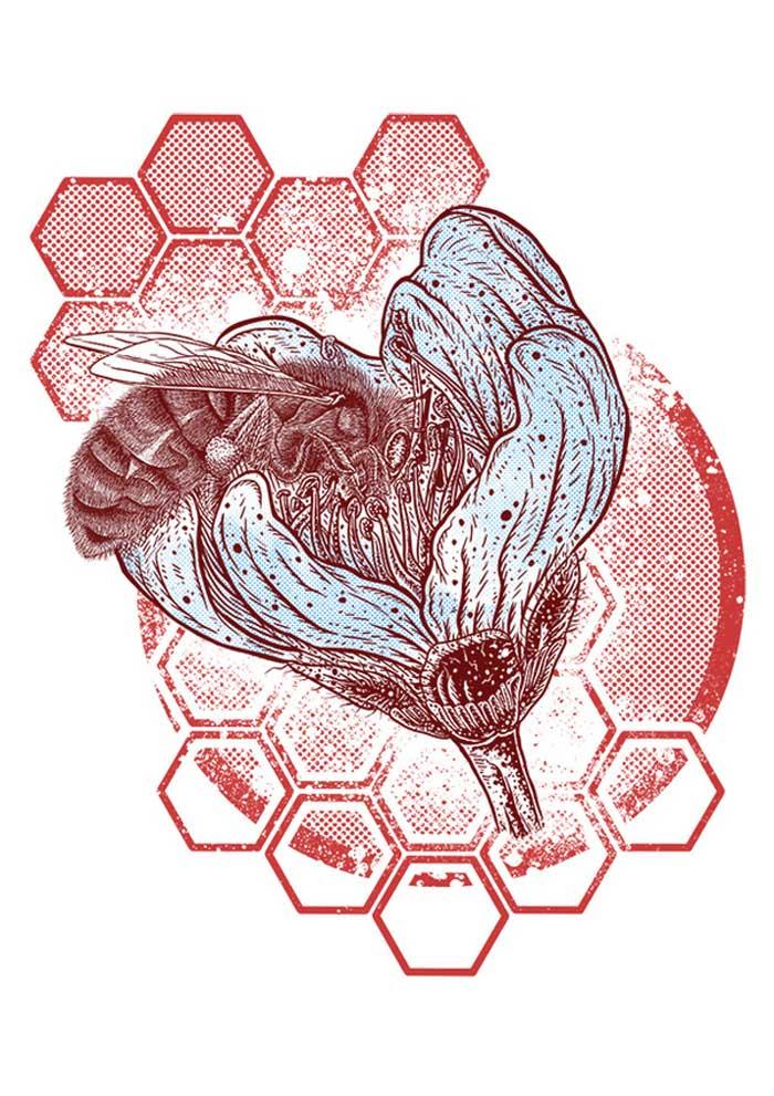 Alliteration Inspiration: Beards & Bees / on Design Work Life.