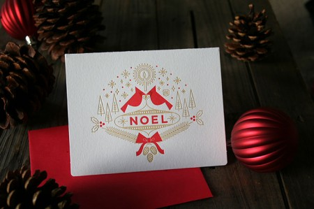 Brad Woodard: NOEL Card / on Design Work Life