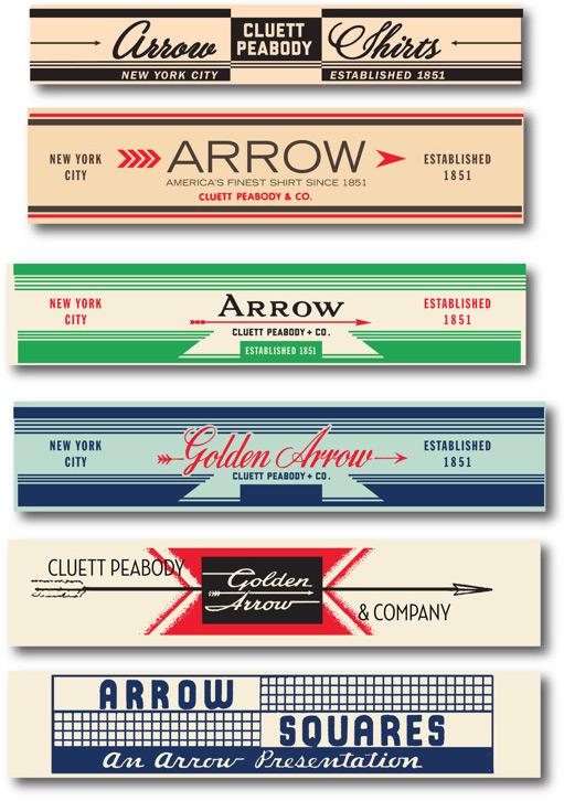 Glenn Wolk: Arrow/Cluett Labels / on Design Work Life
