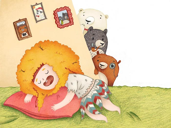 Laura Woods Illustration / on Design Work Life.