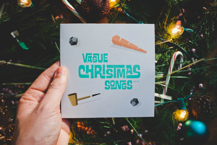 Mike Smith: VagueChristmas Card / on Design Work Life