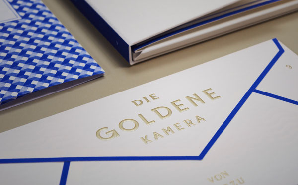 Paperlux: The Golden Camera / on Design Work Life