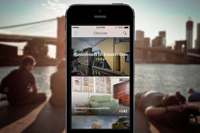 The Apps of the Year on Design Work Life - Air BnB