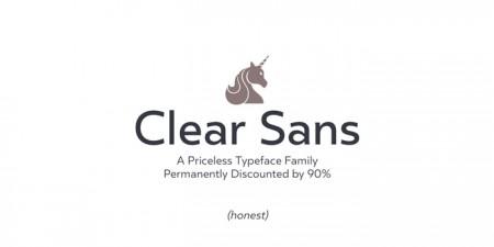 Type Love: Clear Sans / on Design Work Life