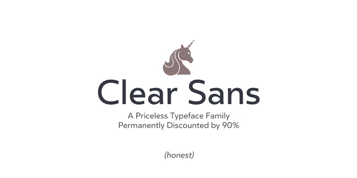 Type Love: Clear Sans / on Design Work Life