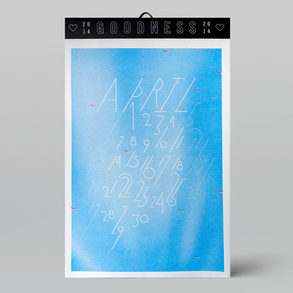W+K Studio: 2014 Calendar / on Design Work Life